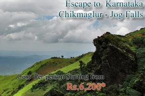 Chikmagalur – Shimoga – Jogfalls – Murdeshwar – Devbagh – Escape to Karnataka – 4N/5D